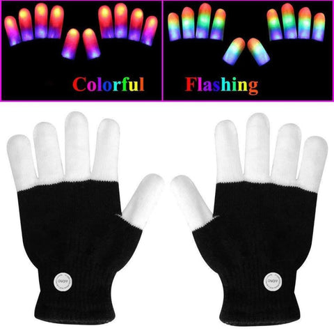 Rave Light Show Gloves
