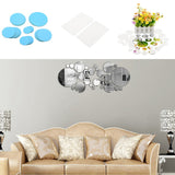 30Pcs Art Mirror Wall Stickers