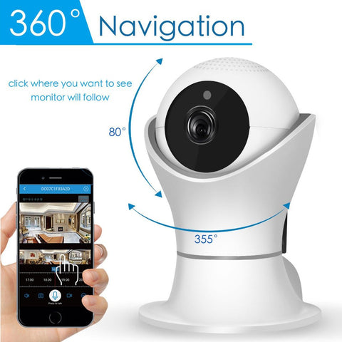 360° FIFA World Cup FullHD WiFi Rotating Camera