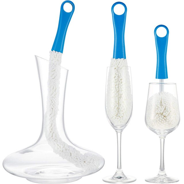 Reusable Drinkware Cleaning Brushes