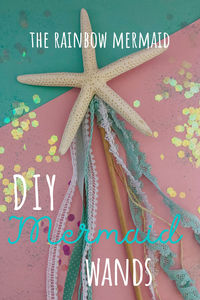 DIY Mermaid Wands