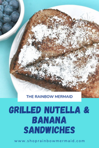 Grilled Nutella & Banana Sandwiches