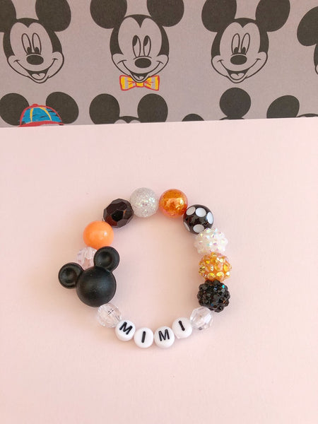 Halloween Mouse Bracelet - Personalized