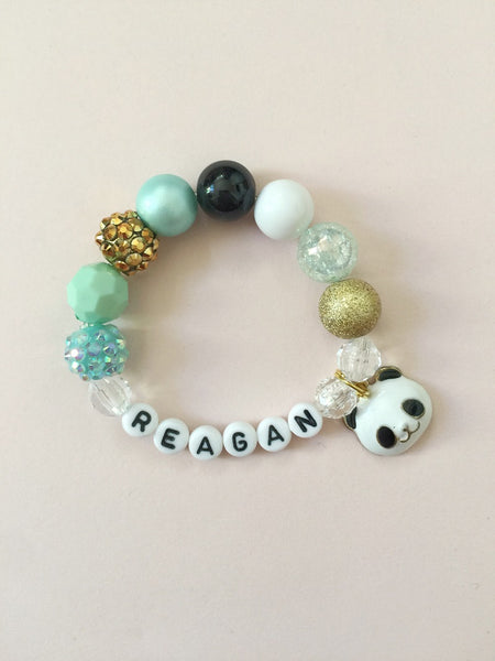 Panda Bracelet - Customizable