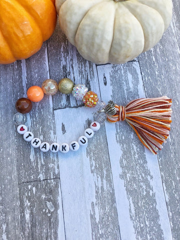 Thankful Beaded Bracelet