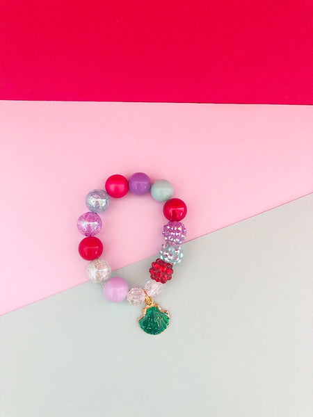The Magical Collection -  Mermaid Charm Bracelet - Customizable