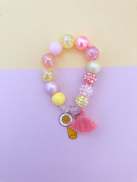Lemonade Charm Bracelet - Customizable