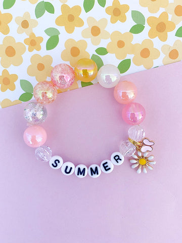 Summer Days Charm Bracelet - Customizable