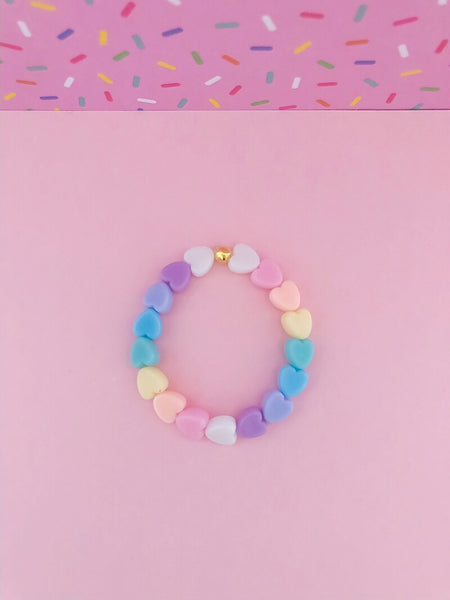 Tiny Hearts Stacker Bracelet