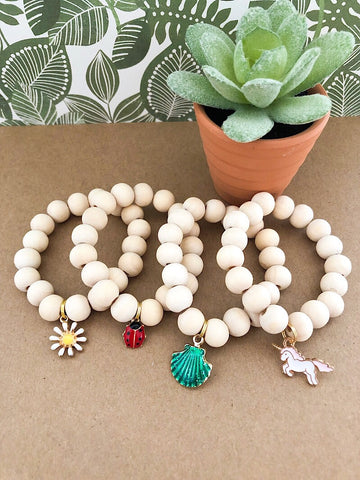 The Natural Collection: Sweet + Simple Mini Charm Bracelet