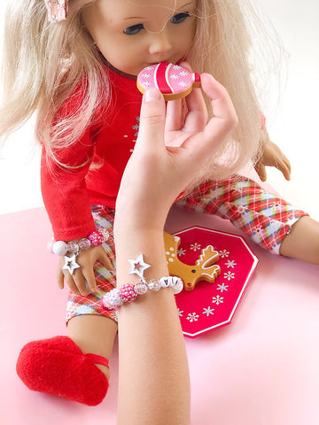 Dolly and Me Star Charm Bracelet - Customizable