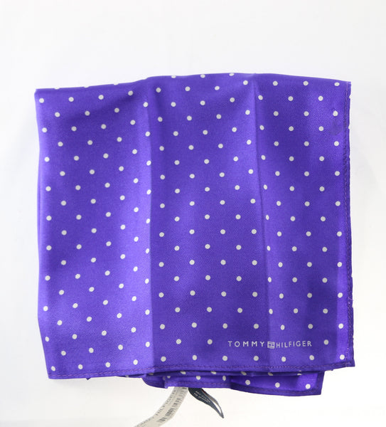 Tommy Hilfiger Purple Pocket Square