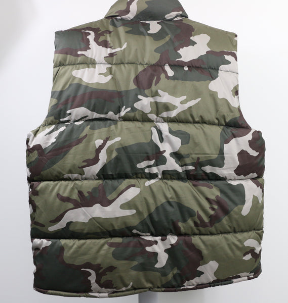 Old Navy Camouflage Puffer Vest