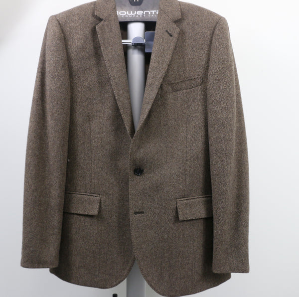J Crew Ludlow Brown Harrington Tweed SportCoat
