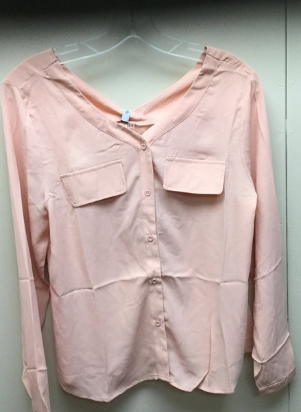 Women's blush blouse