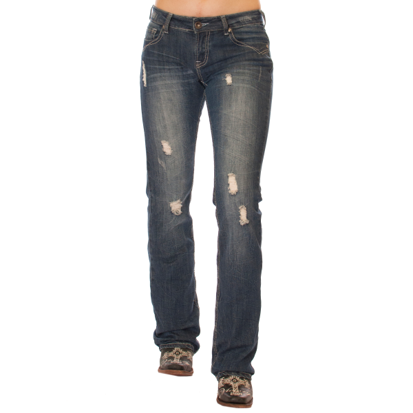 Cowgirl Tuff Vintage Honey Jeans