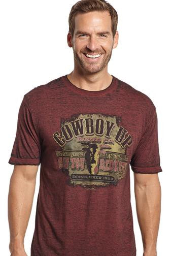 Cowboy Up Talk The Bull Tee