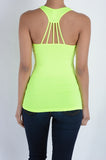 Women's Neon Athletic Tank