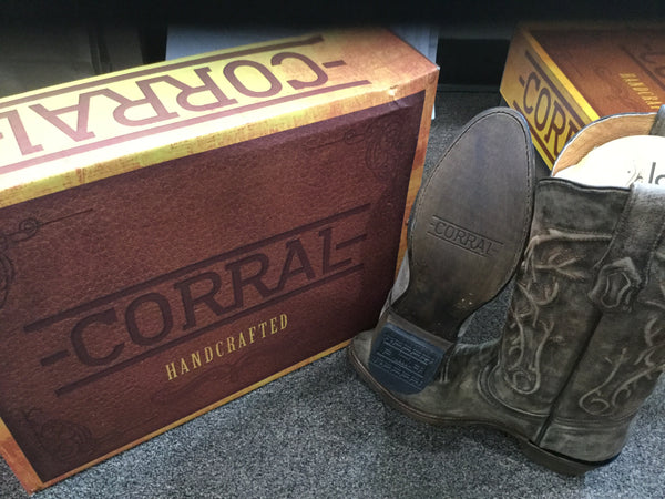 Corral Brown Round Toe