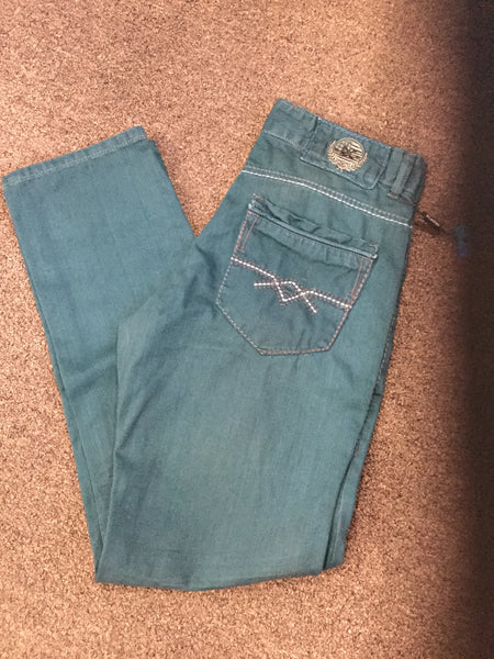 Hunter Green Jeans