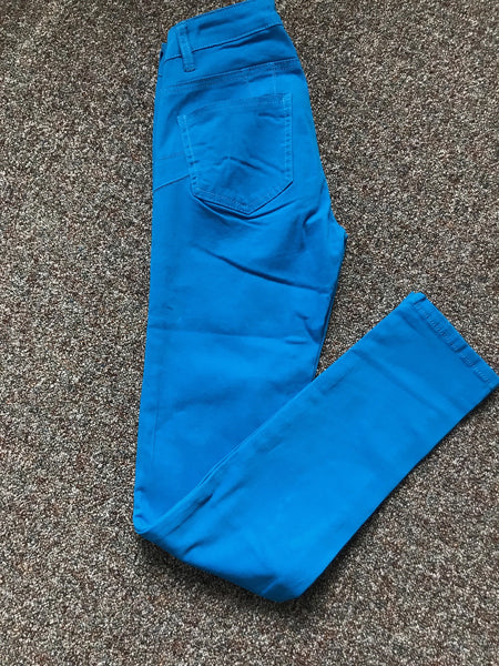 Women's Blue Skinny Pants