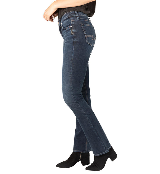 Women's silver Avery high rise jeans