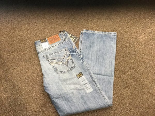 Rock 47 Slim Fit Bootcut Lightwash Jean