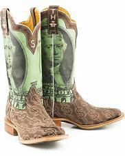 "Men's Tin Haul -""Deuce"" boot - Take the money & run!"