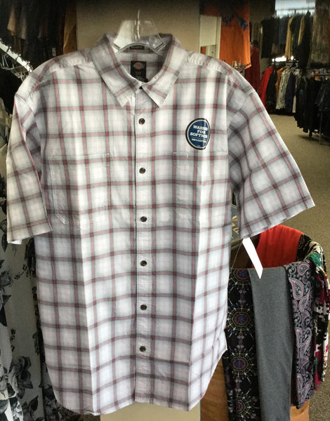 Short sleeve button up shirt