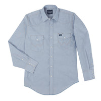 men's longsleeve chambray shirt