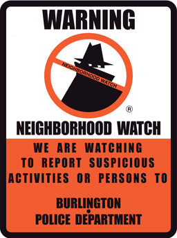 Legacy Boris Neighborhood Watch Sign - Reflective 18X24