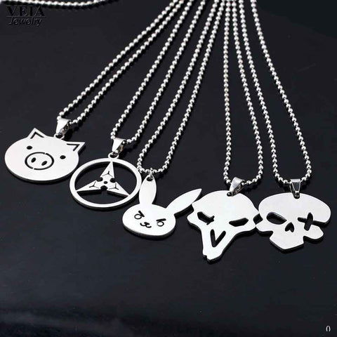 Overwatch Character Icon Necklace