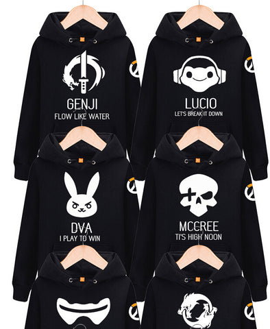 Ovewatch Characters Hoodie