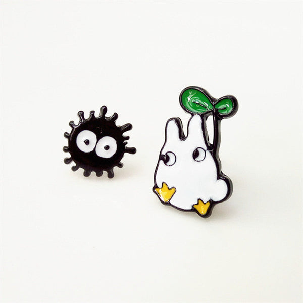 Totoro Stud Earrings