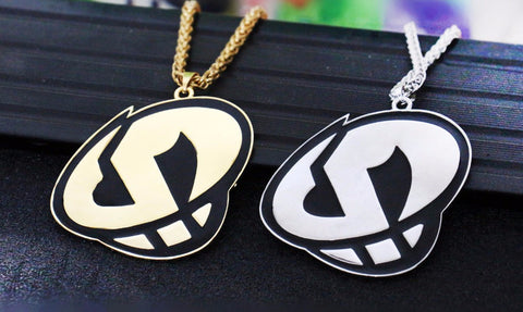 Pokemon Sun and Moon Team Skull Grunt Pendant