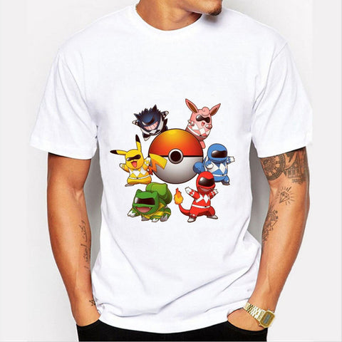 Pokemon Power Rangers  T-Shirt