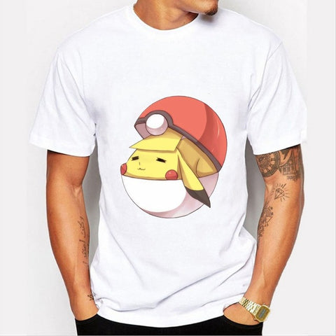 Pikachu Pokeball T-Shirt