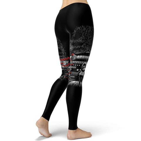 Spirited Away Bathhouse Scene Leggings