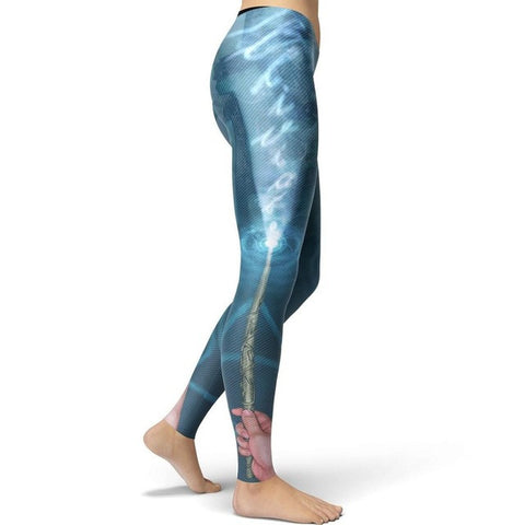 Harry Potter Expecto Patronum Shield Leggings
