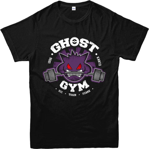 Gengar Ghost Gym T-Shirt
