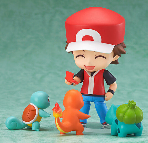Pokemon - Ash Ketchum with Gen 1 Starter Pokemon - 4 piece set model