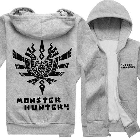 Monster Hunter Logo Zip Hoodie