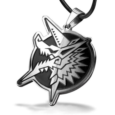 Monster Hunter Zinogre Steel Necklace