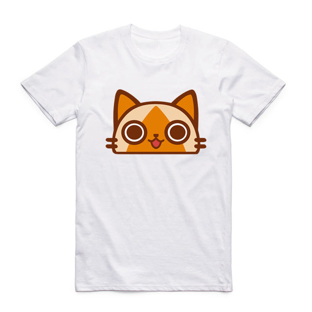 Monster Hunter Felyne Face T-Shirt
