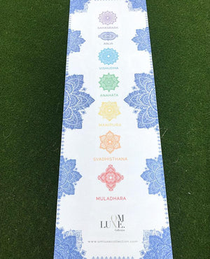 OmLuxe Collection Yoga Mat - Royal Blue - Omluxe Collection