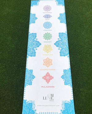 OmLuxe Collection Yoga Mat - Turquoise - Omluxe Collection