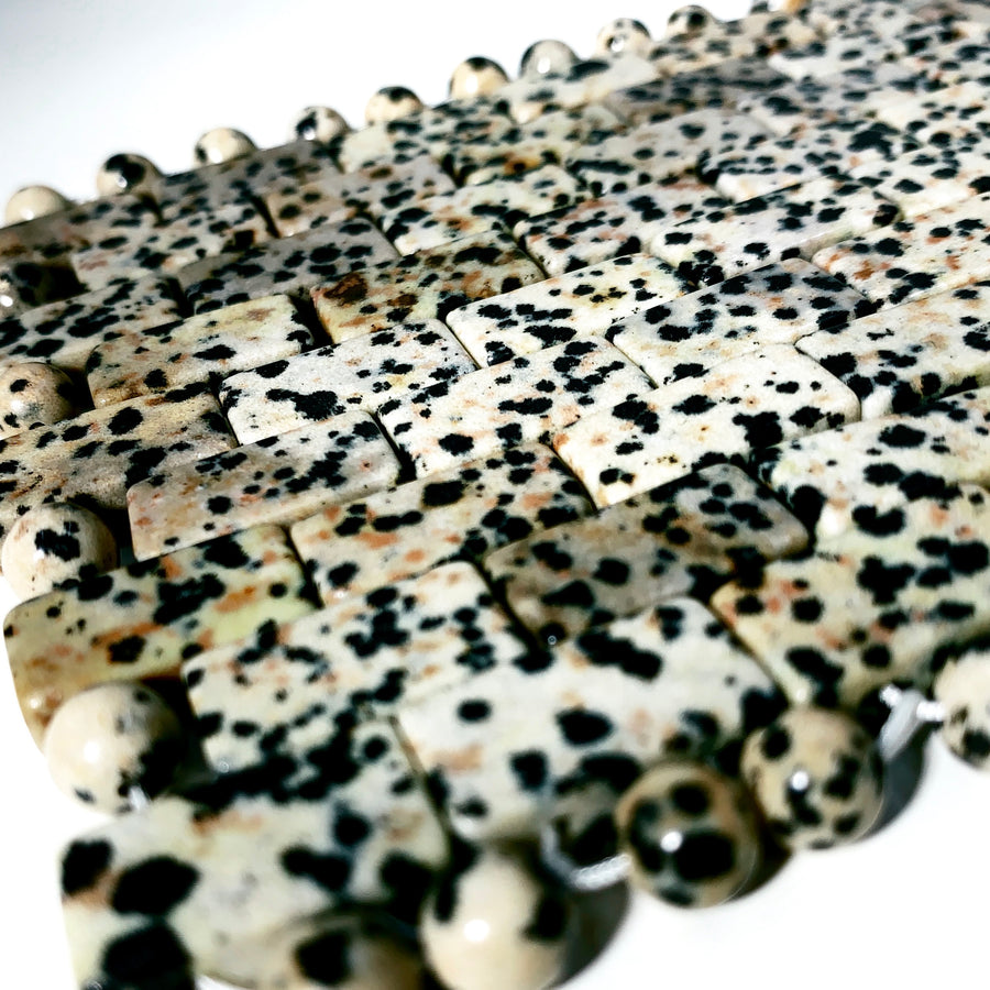Dalmation Jasper Eye Mask