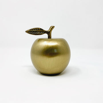 Brass Apple Bottle Opener