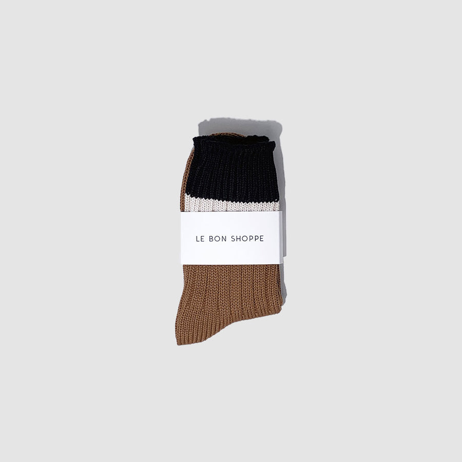 The Camp Sock in Tawny
