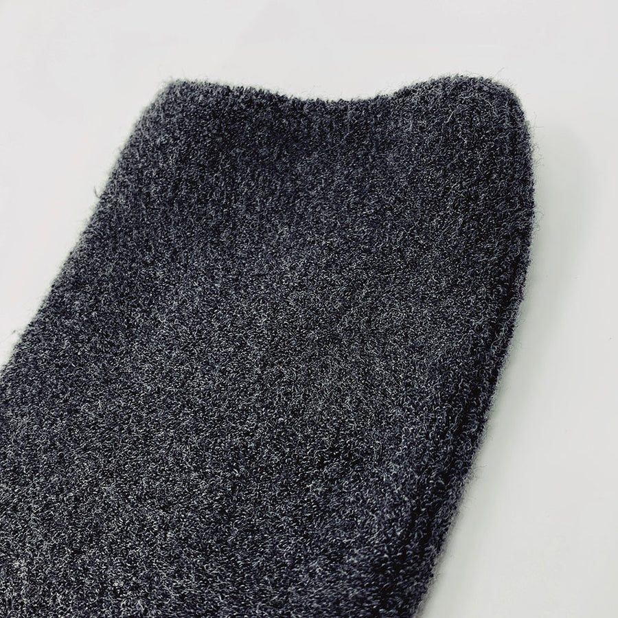 The Cloud Sock in Charcoal
